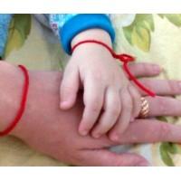 Можно ли ребенку носить красную нить?