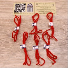 Набор красных нитей на запястье (6 шт)