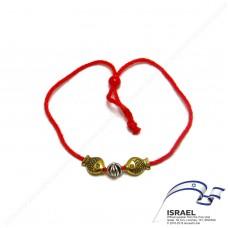Иерусалимская красная нить с рыбами достатка