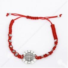 Браслет-оберег «Медальон Святого Бенедикта от злых сил»