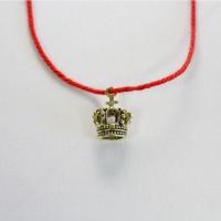 Красная нить оберег молодость и красоту c короной