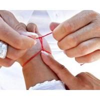 Как завязать красную нить